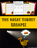 Thanksgiving Writing - The Great Turkey Escape!