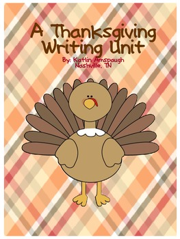 Thanksgiving Writing Unit