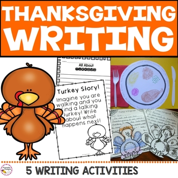 Thanksgiving Writing Unit Activities