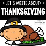 Thanksgiving Writing Webs and Drafts