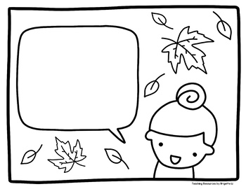 Thanksgiving Writing and Coloring Activity