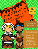Thanksgiving Writing and Graphic Organizer Pack- Over 50 Pages!