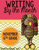 Thanksgiving Writing Lessons for 6th Grade