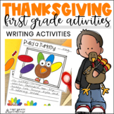 Thanksgiving Writing Activities First Grade   Thanksgiving Writing Prompts