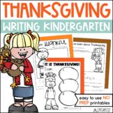 Thanksgiving Writing Activities Kindergarten   Thanksgiving Writing Prompts
