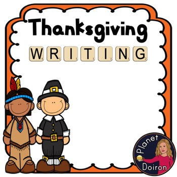 Thanksgiving Writing resource prompts and templates
