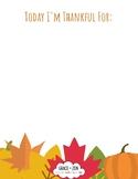 Thanksgiving Yoga Preview