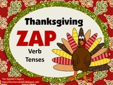 Thanksgiving ZAP! Verb Tense