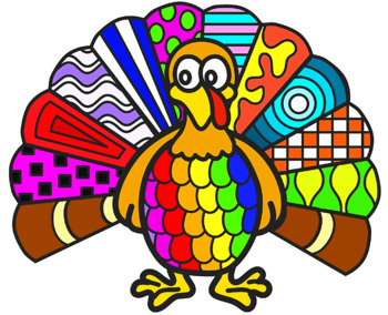 Thanksgiving Zentangles,  No Prep Coloring Pages