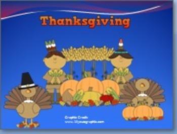 Thanksgiving Power point presentation