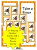 Thanksgiving Activities for Missing Uppercase Letters