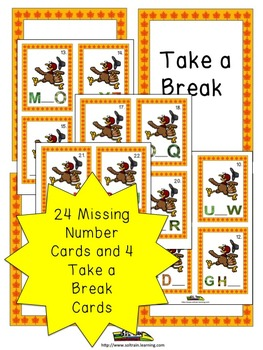 Thanksgiving Activities Bundle For Sequencing the Alphabet