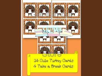 Thanksgiving Activities Party Pack