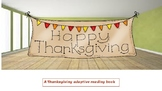 Thanksgiving: an adaptive book for nonverbal students