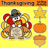 Thanksgiving Writing Activities - Turkey Bulletin Board Thanksgiving Activities