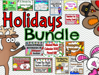 Thanksgiving and Christmas Holiday Bundle