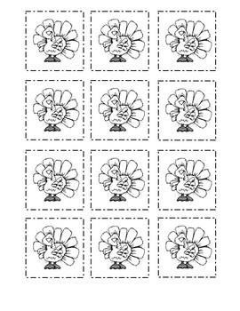 Thanksgiving and Christmas Math Work Mats:  Pre-K and Kinder.