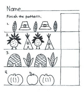Thanksgiving and Christmas Patterns