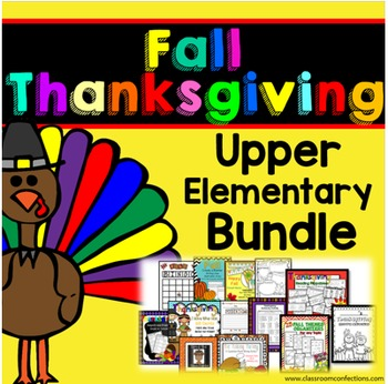 Thanksgiving Activities for 4th Grade