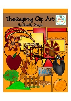 Clip Art : Thanksgiving and Fall / Autumn Clip Art