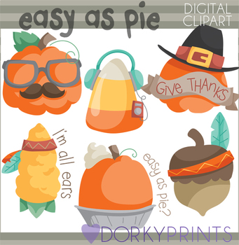 Thanksgiving and Fall Clipart