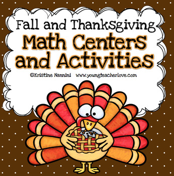 Thanksgiving and Fall Themed Math Centers - Thanksgiving Activities