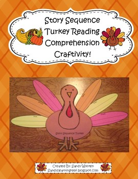 Thanksgiving and Fall Themed Story Sequence Turkey Book Craftivity!