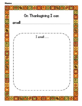 Thanksgiving and Our Five Senses