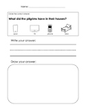 Thanksgiving and Pilgrim unit prompts and worksheets