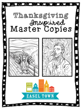 Thanksgiving and Turkey Inspired Master Copies