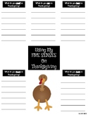 Thanksgiving and the Five Senses!