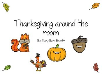 Thanksgiving around the room