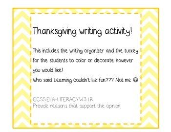 Thanksgiving art activity