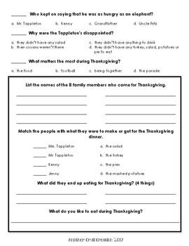 Thanksgiving at the Tappleton's