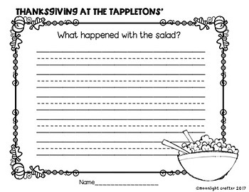 Thanksgiving at the Tappletons' Book Companion