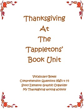 Thanksgiving at the Tappletons' Book Unit