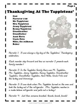 Thanksgiving at the Tappletons' Unit