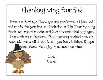Thanksgiving bundle!