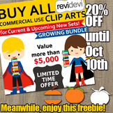 Thanksgiving clip art free sampler and sale for Buy everyt