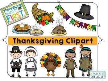 Thanksgiving clipart {November}
