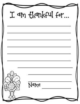 Thanksgiving coloring book freebie