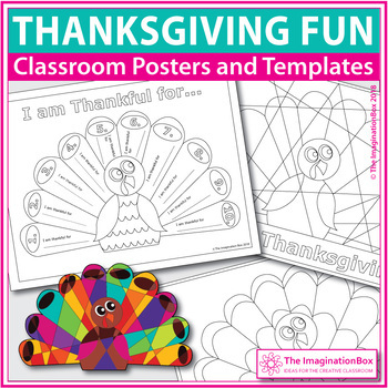 Thanksgiving coloring pages - turkey art activity