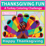 Thanksgiving Coloring Pages - A Fun Turkey Art Activity