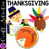 Thanksgiving craft BUNDLE! (Native American, Pilgrim, Turkey)