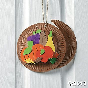 Thanksgiving craft cornucopia
