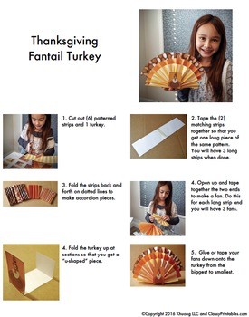Thanksgiving crafts fantail turkey FREE coloring pages Thanksgiving facts