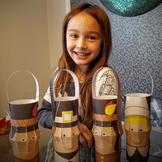 Thanksgiving crafts activities printable lanterns FREE coloring pages fact sheet
