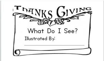 Thanksgiving decodable book