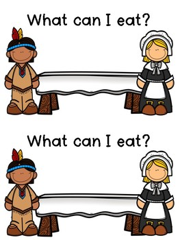 Thanksgiving Emergent Readers