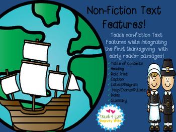 Thanksgiving first grade non-fiction informational BUNDLE!